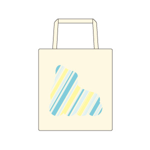stripe logo 01 : tote bag