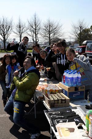 2010.03.27:大会準備中の風景 @さいたま水上公園(上尾)