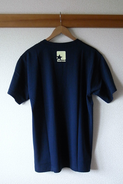 limonade skate : light logo 03 - navy 背面写真(サイズ:L)