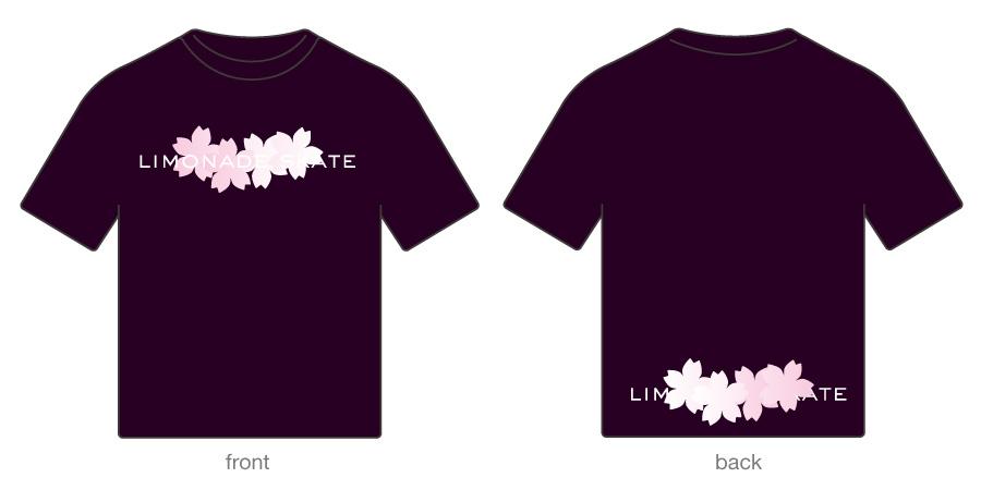llimonade skate : sakura 02 / t-shirt / twilight