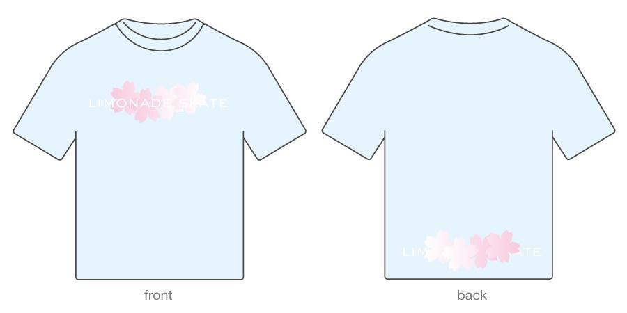 llimonade skate : sakura 02 / t-shirt / daylight