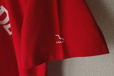 limonade skate : uniforme 07 / red / left sleeve