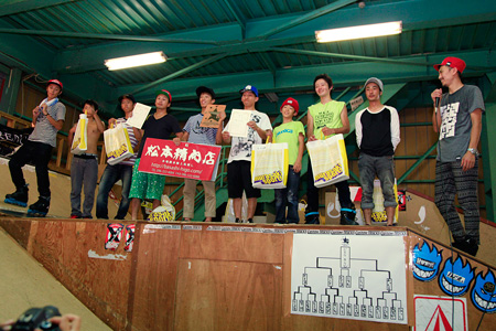 2011.07.17:GOLD STYLE 2nd CONTEST;表彰式@X-dome海老名