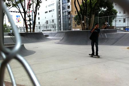 2011.08.03:みやしたこうえんスケートパーク(通称:ナイキパーク)奥