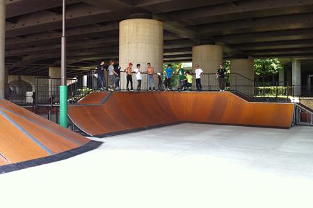 2011.08.13:BONS BLADING TOUR 2011 - photo01@新横浜スケボー広場