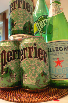 perrier meets PAUL&JOE