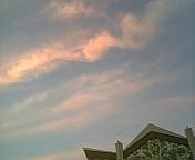 空を見上げると、ついつい彼を想い出してしまいます。