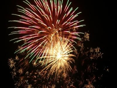 美山の花火2010
