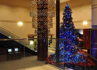 東急ホテルのクリスマスツリー