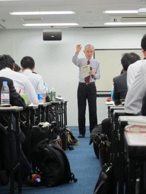 ノリノリの竹田先生