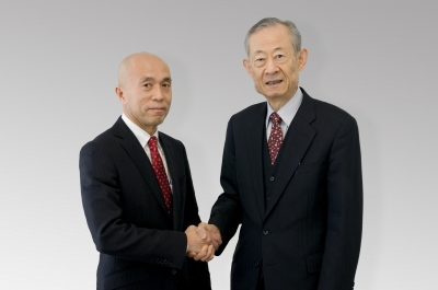 竹田先生と握手
