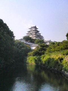 世界遺産 姫路城(動物園から)50UP.JPG