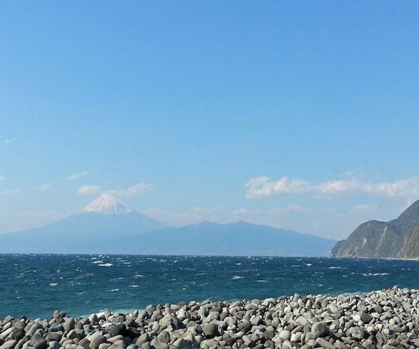 戸田からの富士山