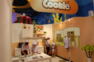 クッキー作り体験コーナー
