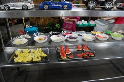 果物とデザート