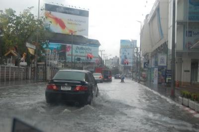 今日も洪水