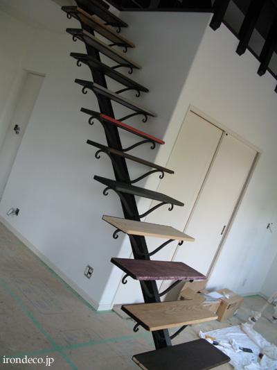 アイアン階段2
