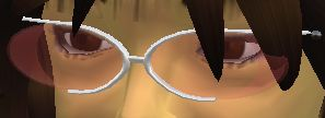 このサングラス、色を変えることができるんです。でも、ワタシはピンクが好きなので、このままでもいいかなぁ〜♪