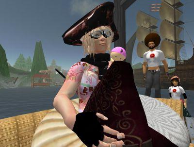 海賊:りゅうのすけの頭(賞金7000万ベリー)