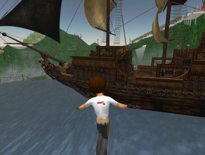 嗚呼、憧れの海賊船