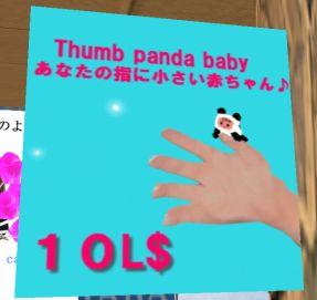 指乗り子パンダ
