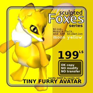 sculpted_fox_poster_yellow.jpg