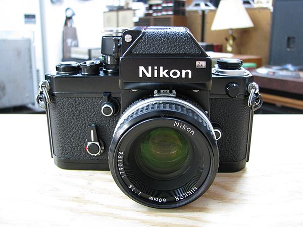 Nikon FM2 ブラックボディ MD-12 モータードライブ付き