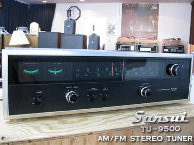 SANSUI TU-9500 FM/AMチューナー サンスイ