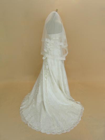 ウェディングドレス,コサージュ