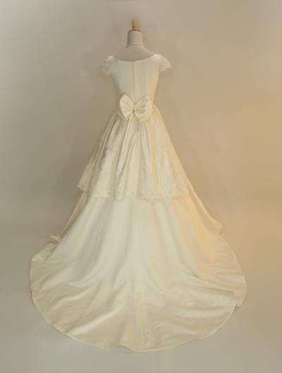 ウエディングドレス,オーダーメイド,ミカドサテン