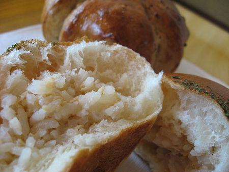 おにぎりパン鮭
