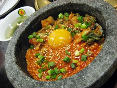 石焼豚キムチ飯