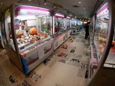 ゲームセンター PLAZA CAPCOM プラサカプコン 吉祥寺店 クレーンゲーム UFOキャッチャー