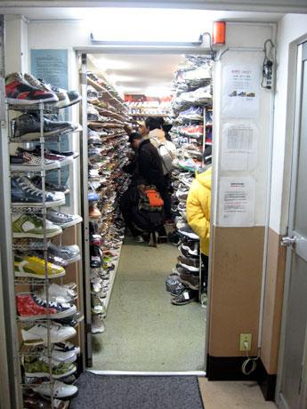 Sneaker Shop Skit スニーカーショップ スキット 吉祥寺 店内