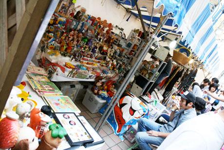 吉祥寺おもちゃ市場 2008 お店