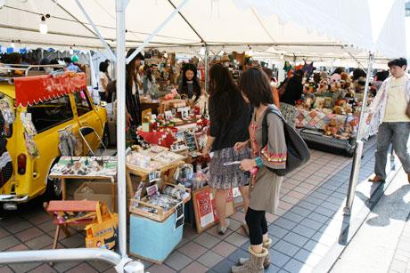 吉祥寺おもちゃ市場 2008 お店2