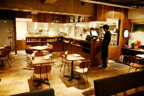 GONO burger & grill ゴーノ バーガー&グリル 吉祥寺 店内