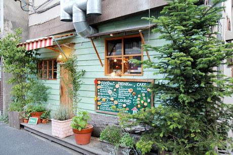 森ガールなカフェ HATTIFNATT ハティフナット