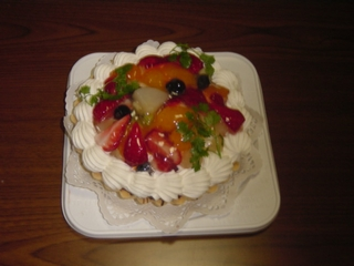 ホワイトデーで頂いたケーキ