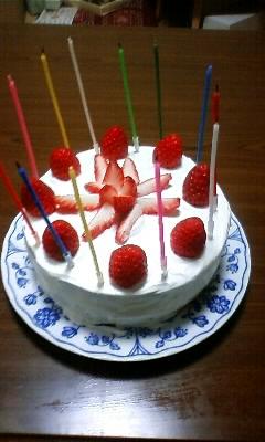 次女の誕生ケーキ