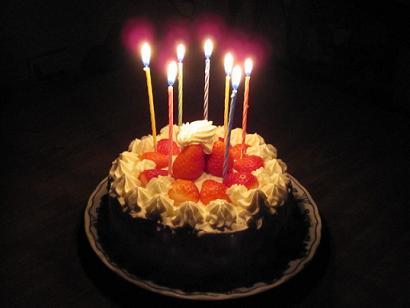 三女の誕生日ケーキ
