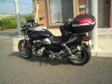 相棒のバイク