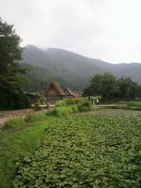 バイク旅(白川郷)