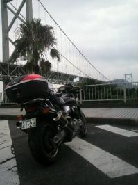 バイク旅(壇ノ浦SA)