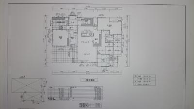 CAD平面図
