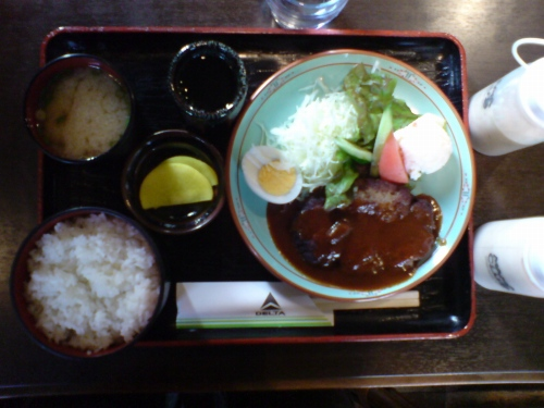 ハンバーグ定食4