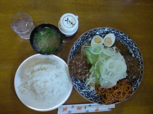 ハンバーグ定食6