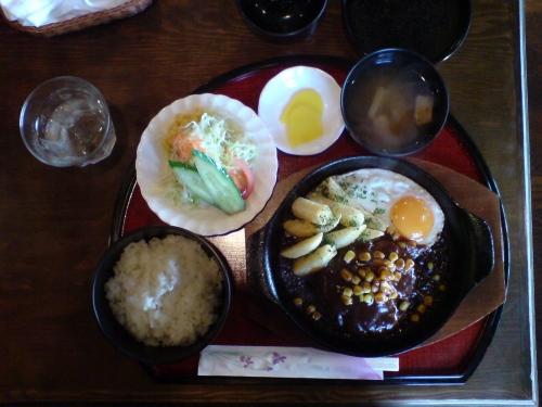 ハンバーグ定食7