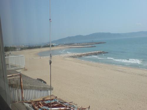 淡路島方向の眺望