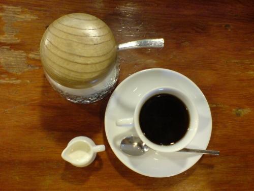 これが食後のミニコーヒー